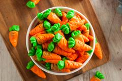 Stock Photo of Sweet Sugary Easter Candy