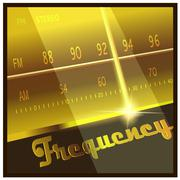 frequency - stock illustration