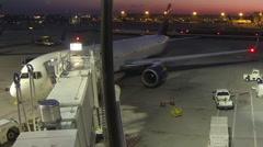 Time lapse Hartsfield-Jackson Atlanta International Airport Stock Footage