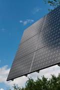 Renewable Energy - Photovoltaic Solar Panel Array Stock Photos