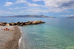 Adriatic beach Stock Photos