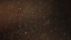 Real dust particles Stock Footage
