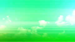 Stock Video Footage of Green Line Art background 8