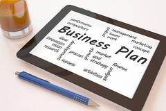 Business Plan Stock Illustration