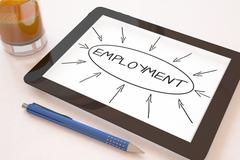 Employment - stock illustration