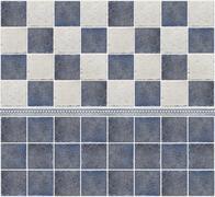 Bathroom marble tile mosaic Stock Photos