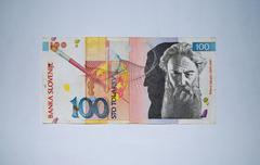 Slovenia - 100 Toliarov  Stock Photos