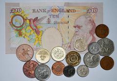 GB - money - stock photo