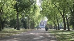 Trees in Kensington Gardens London 1 Stock Footage