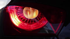 Eye Headlight Car Stock Footage