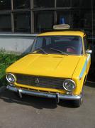 Yellow car Stock Photos