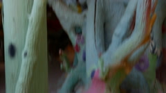 Inside Salvation mountain Stock Footage