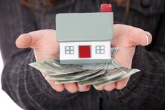 Real estate loan concept - stock photo