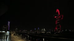 The Orbit - Stratford, London   HD 1080 - stock footage