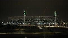Olympic Stadium - Stratford, London   HD 1080 - stock footage