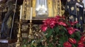 4k Sao Bento church Ribeira Brava closeup tilt altar figures 4k or 4k+ Resolution