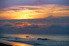 Emerald Isle Morning - stock photo