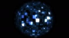 Shiny Ball Animation - stock footage