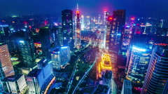 Guangzhou, China. - stock footage