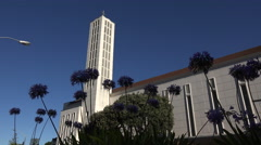 Waiapu Cathedral of St John the Evangelist, Napier, New Zealand - stock footage