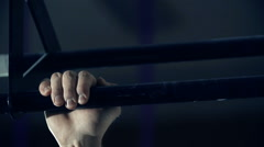 Biceps in Detail Stock Footage