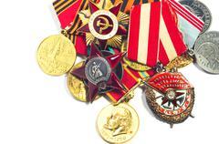Order of the Soviet Union Stock Photos