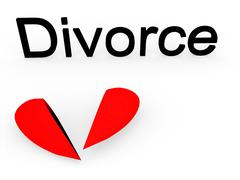 "Picture ""Divorce"". Stock Photos"
