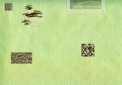Green background. Stock Photos