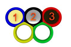 Olympic Stock Illustration