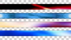 Lower Third Set One Stock Footage