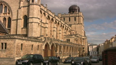 Cheltenham Ladies College Montpellier Street Stock Footage