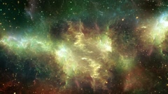 Space Nebula Travel Seamlessly Looped Background - stock footage