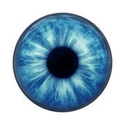 Blue eye Stock Illustration