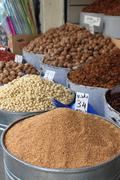 Dried fruits and legumes Stock Photos