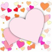 hearts - stock illustration