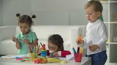 Creative Kids Stock Footage