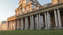 Chapel at the Old Royal Naval College Stock Footage
