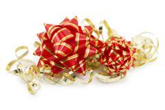 bow Ornaments - stock photo