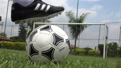 Soccer Ball, Futbol, Footy, Sports Stock Footage