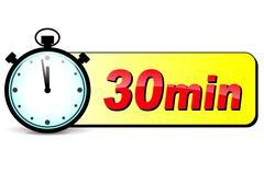 Stopwatch time icon Stock Illustration
