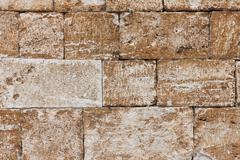 Very old brick wall texture Stock Photos
