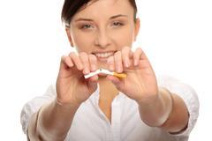 Stop Smoking Stock Photos