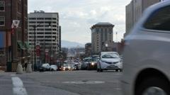 Salt Lake City Traffic - stock footage