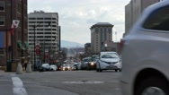 Stock Video Footage of Salt Lake City Traffic