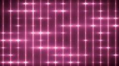 Floodlights disco background. Pink creative bright flood lights flashing.  Stock Footage