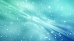 Blue animation snowflakes. Stock Footage