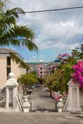 Nassau Cityscape - stock photo