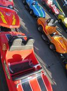 Bumper cars Stock Photos