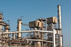 Petrochemical Refinery Plant Stock Photos