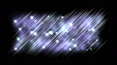 Abstract star line stage background,lake water ripples wave,silk weaving. Stock Footage